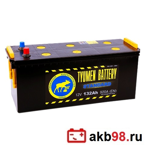 Аккумулятор для грузового автомобиля Tyumen Battery 6СТ-132Ач Пр - фото 10